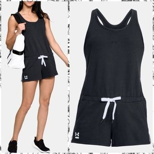 Under Armour Relaxed fit black & white romper XL
